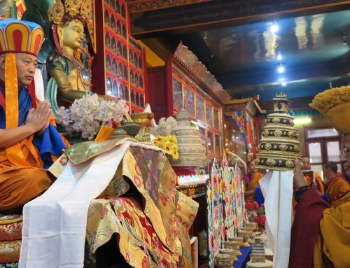 Enthronement of H.H. Menri Trizin 34th, Dawa Dargyal Rinpoche