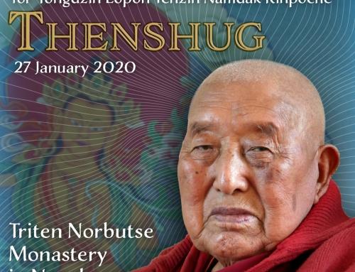 Tenshug for H.E. Yongdzin Lopön Tenzin Namdak Rinpoche